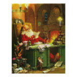 Good Old Santa Claus Poster