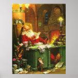 Good Old Santa Claus Print
