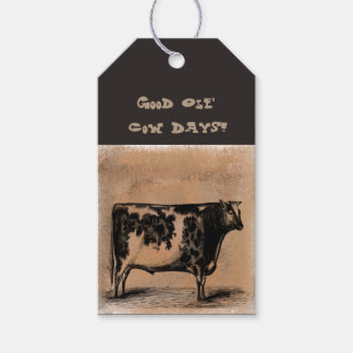 Good Ole' Cow Days Gift Tags