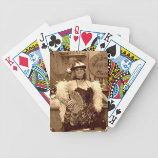 'Good Ole Days Gone By' Playing Cards