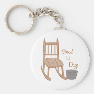 Good Ole Days Keychain