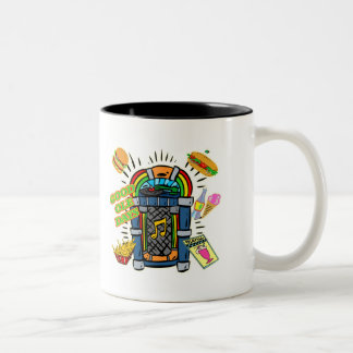 Good Ole Days T-shirts and Gifts Two-Tone Coffee Mug