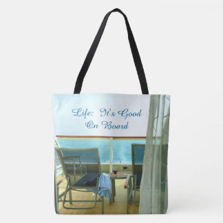 Good On Board Custom Tote Bag