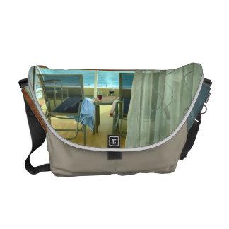 Good On Board Flannel Medium Courier Bag