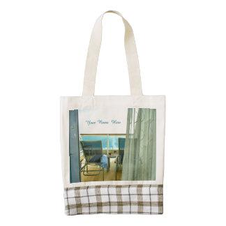 Good on Board Personalized Zazzle HEART Tote Bag