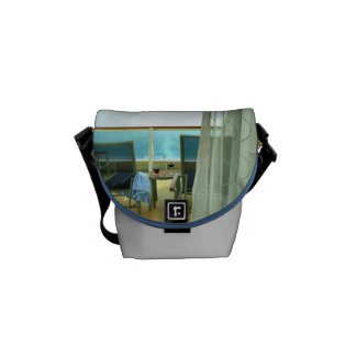Good On Board Silver Mini Messenger Bag