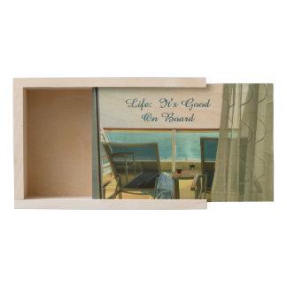 Good on Board Wooden Keepsake Box