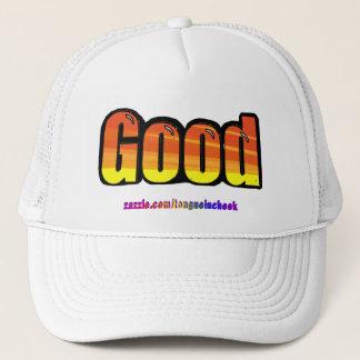 Good Orange Spraypaint Graphic, Customize Me! Trucker Hat