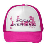 Good Over Evil Pink Customized Female Hat