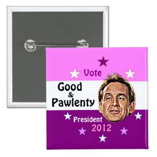 Good & Pawlenty 2012 button