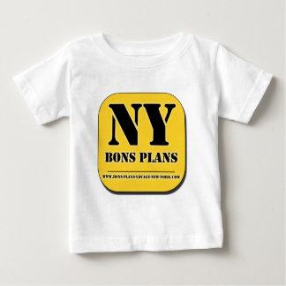 """GOOD PLANS New York"" Appli Baby T-Shirt"