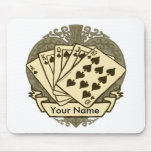 Good Poker Hand White mouse pad