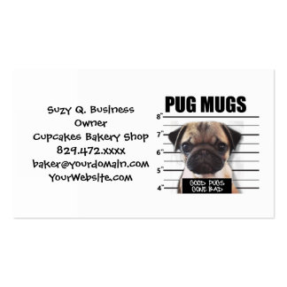 good pugs gone bad Double-Sided standard business cards (Pack of 100)