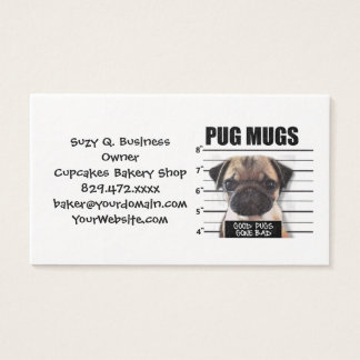 good pugs gone bad business card