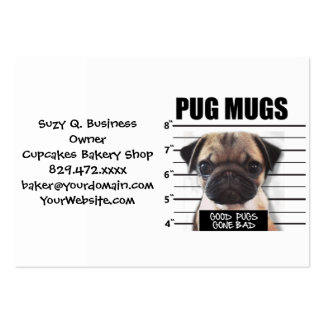 good pugs gone bad large business cards (Pack of 100)