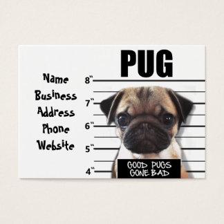 good pugs gone bad business card