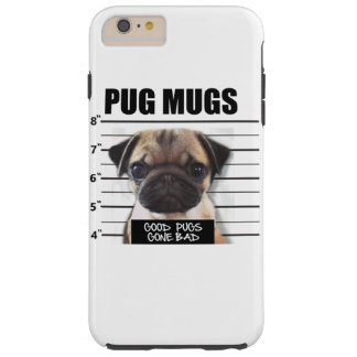 good pugs gone bad tough iPhone 6 plus case