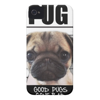 good pugs gone bad iPhone 4 Case-Mate case