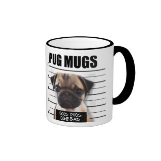 good pugs gone bad ringer mug
