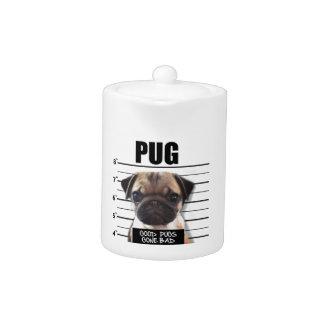 good pugs gone bad teapot