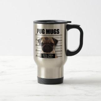 good pugs gone bad travel mug