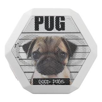 good pugs gone bad white bluetooth speaker