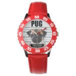 good pugs gone bad wristwatch