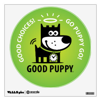 Good Puppy Room Stickers