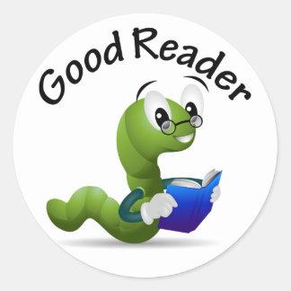 Good Reader Sticker