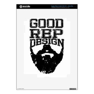 Good Rep Beard iPad 3 Decals