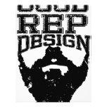 Good Rep Beard Personalized Letterhead