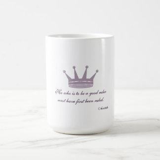 Good Ruler Quote - Aristotle Mugs