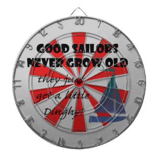 Good Sailors Never Grow Old, Fun Saying Dartboards