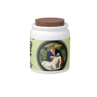 good samaritan green back candy jar