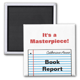 Good Schoolwork Personalized Magnet MM16cN
