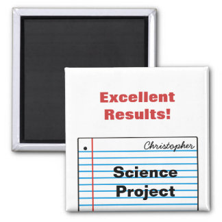 Good Schoolwork Personalized Magnet MM16dN
