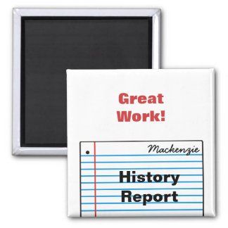 Good Schoolwork Personalized Magnet MM16fN