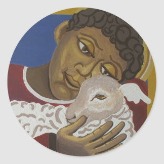 Good Shepherd Classic Round Sticker