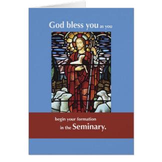 Good Shepherd Seminarian Card