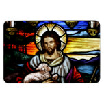 Good Shepherd Stained Glass Magnet