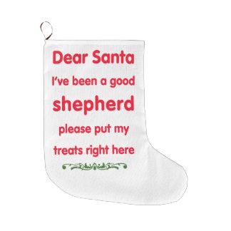 good shepherd stocking large christmas stocking