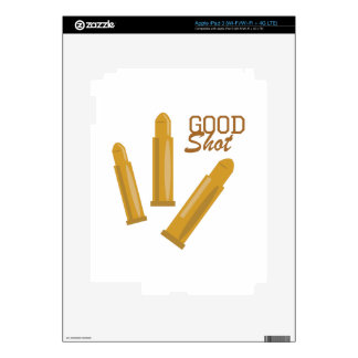 Good Shot Decal For iPad 3