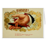 Good smoke to relax and enjoy life one day at a ti greeting cards