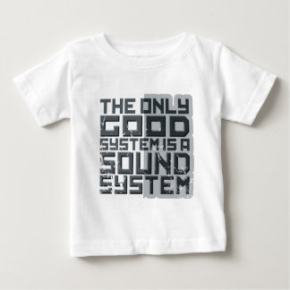 good_sound_dd_used.png baby T-Shirt