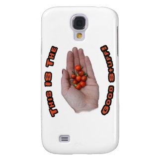 Good Stuff Cascabel Hot Pepper Design Image Galaxy S4 Cover