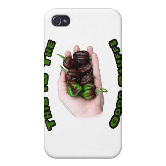 Good Stuff Chocolate Habanero Hot Pepper Design Cases For iPhone 4