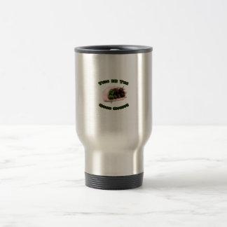 Good Stuff Chocolate Habanero Hot Pepper Design Mugs