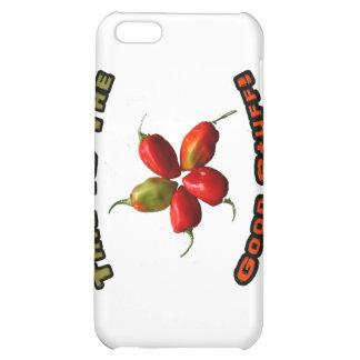 Good Stuff Five Habanero Hot Pepper Design Cover For iPhone 5C