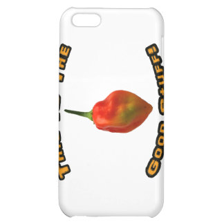 Good Stuff Single Habanero Hot Pepper Design iPhone 5C Cases