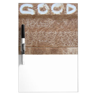 Good 'Tailgate Talk' Dry Erase Board
